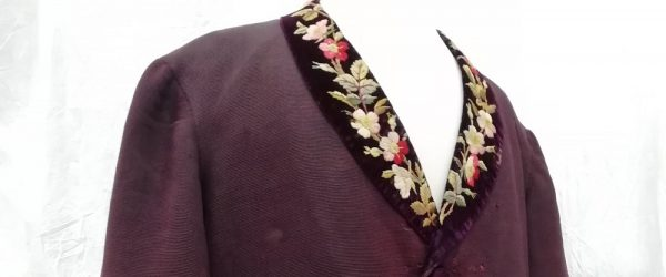 Conservation of the Manchester smoking jacket