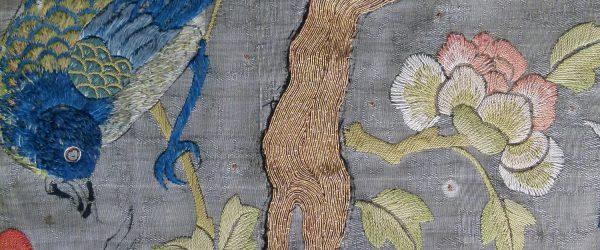Alphonse Mucha's Chinese embroidery
